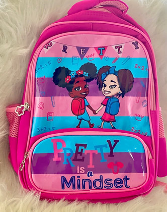 Pretty Is A Mindset Backpack
