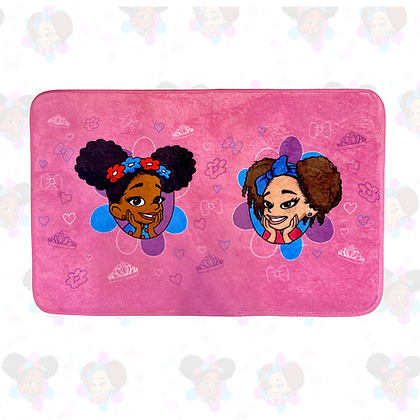 Princess Plush Bath Rug
