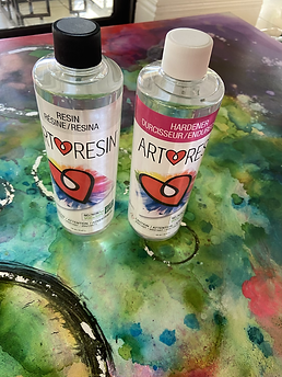 ART RESIN PAINTING