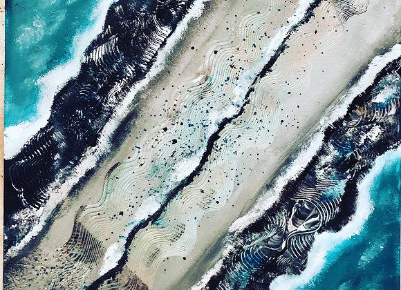 Turqoise/Amber beach