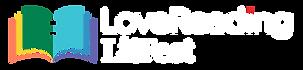 lovereading lit fest logo color with whi