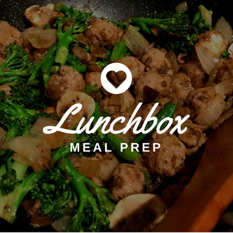 Lunchbox Meal Prep