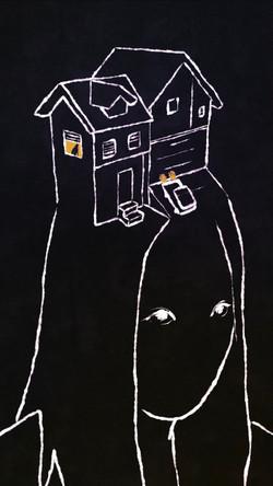 Elaine house head animation