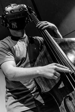 Bass musician Stephan Kondert