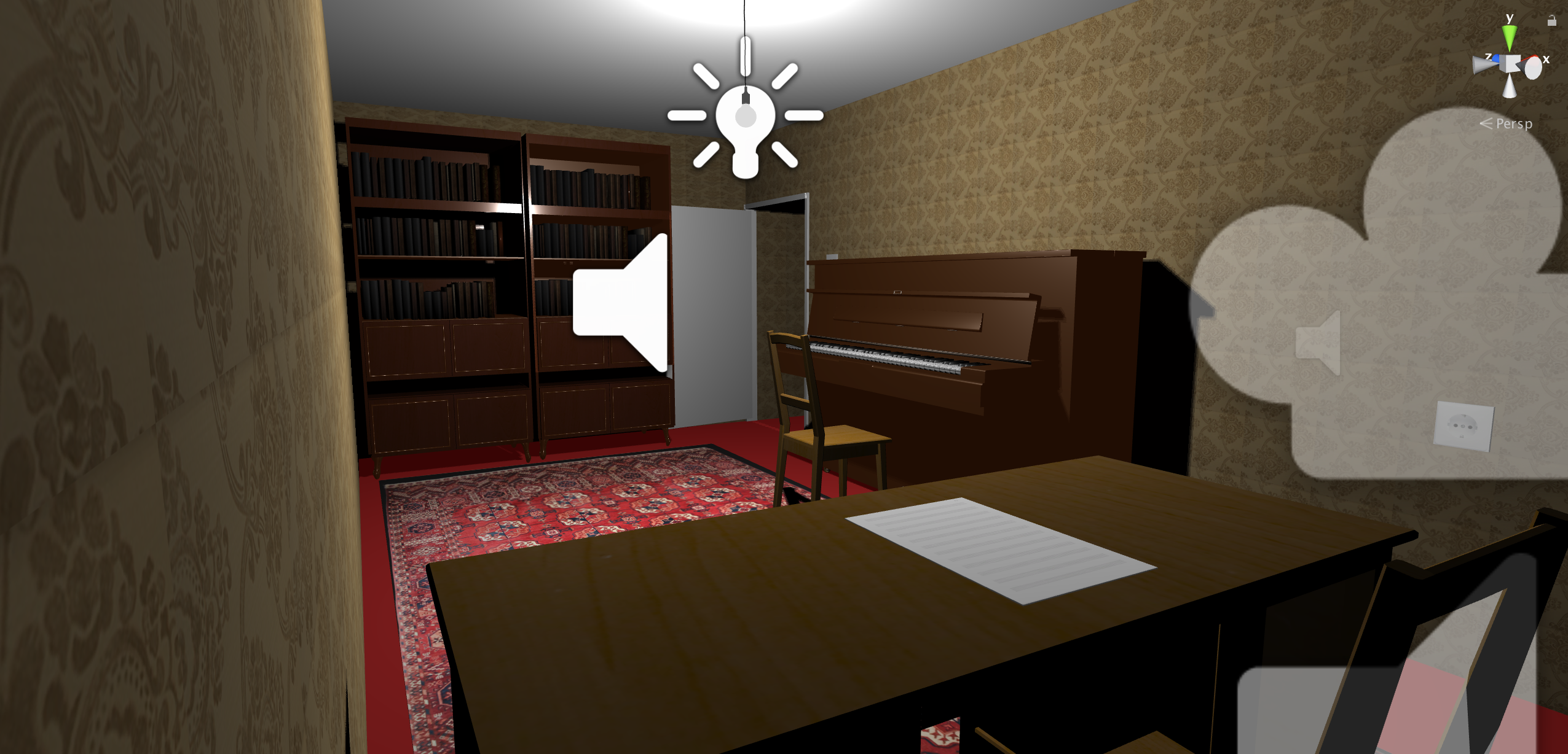 Office built in Unity 3D