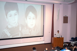 Akmyrat at Johns Hopkins University