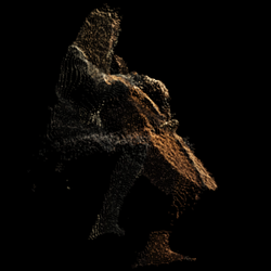 Cellist DepthKit point cloud render