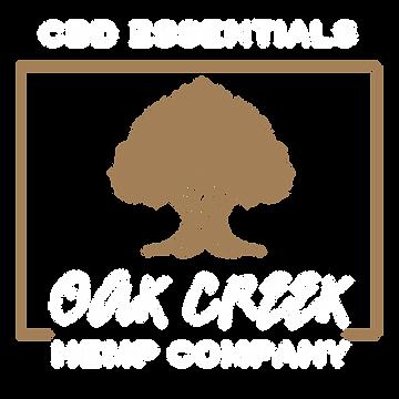 Oak Creek Hemp Logo White Brown.png