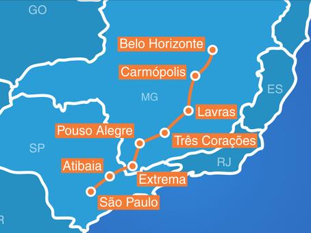 VOLUY ilumina rede de alta velocidade em rodovia brasileira com solução óptica