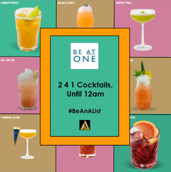 Be at One Cocktail Bar - Bournemouth