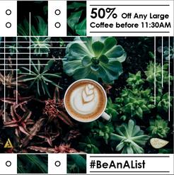 Just Bean Ground - A List deal