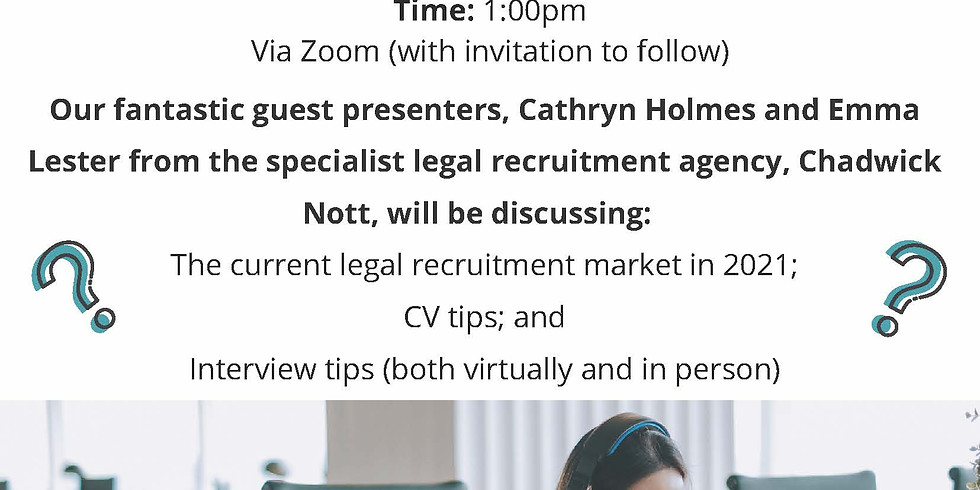 Legal Careers with Chadwick Nott