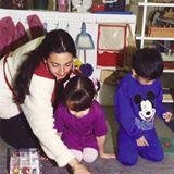 Zamahara working with children