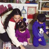Zamahara working with children