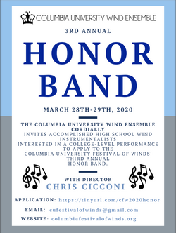 honor band flyer