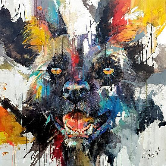Wild Dog Print