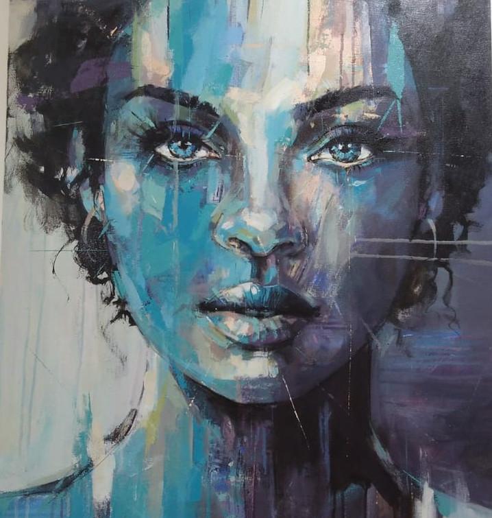 Female Portrait - Sold!!