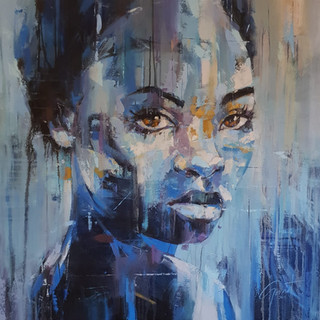 Afro-centric female portrait