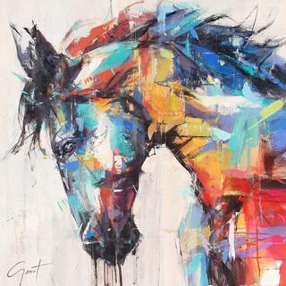 Retro Horse