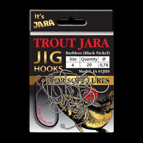 Trout Jara Jig Hooks #4