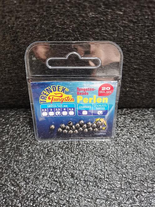 Tungsten Perlen Schwarz