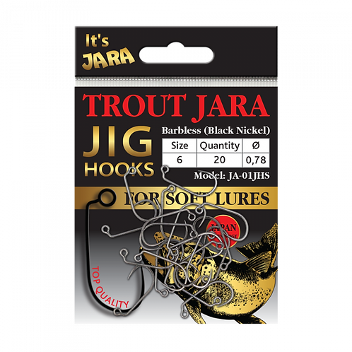 Trout Jara Jig Hooks #6