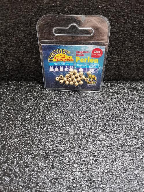Tungsten PerlenGold