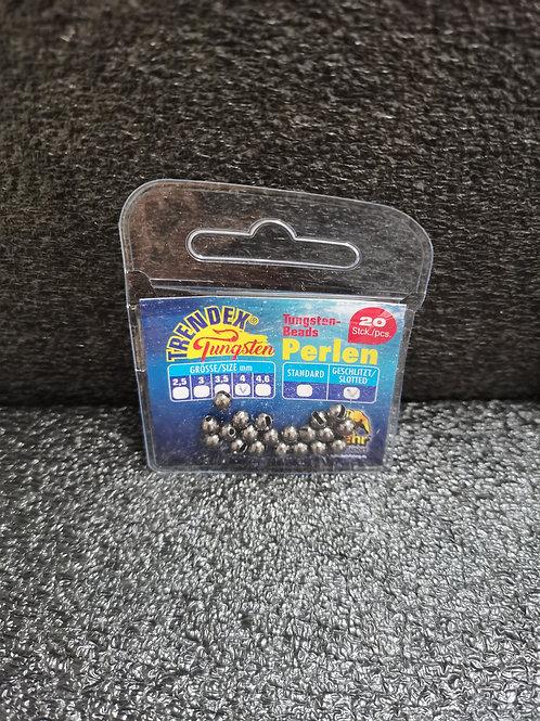Tungsten Perlen Schwarz 3mm