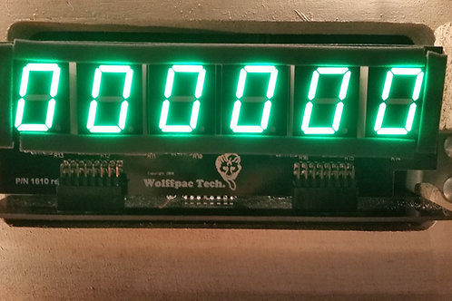 5X Green 6-Digit display kits for Bally/Stern