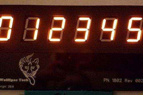Williams System 3-6 Display kit, Orange digits