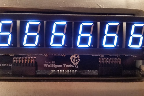 5X White 6-Digit display kits for Bally/Stern