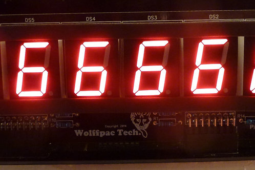 5X Red 6-Digit display kits for Bally/Stern
