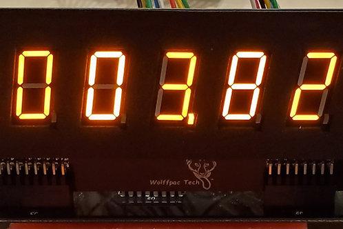 4X Orange 7-Digit display kits for Bally/Ster4
