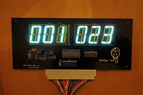 4X Gottlieb 6-Digit Display Kit