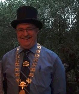 Mayor Rodney Reid (in costume)