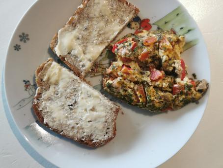 Omelett, perfekt fingermat!