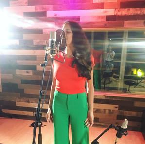 recording at Studio 42, Brooklyn