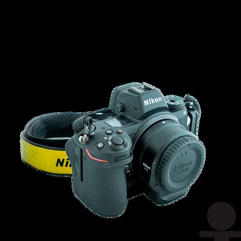 Nikon Z6 c/adaptador