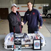 Hockey Memorabilia Donation