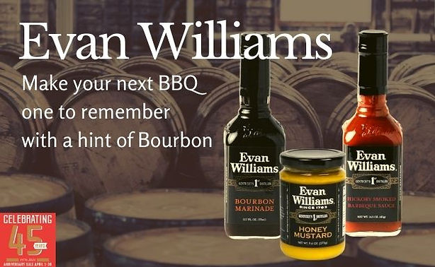 Peters Gourmet Market Evan Williams Sauces