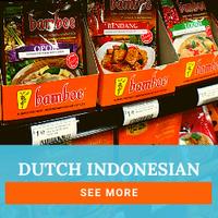 Peters Gourmet Market Dutch Indonessian.