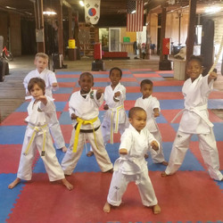 Karate Kids April 2017
