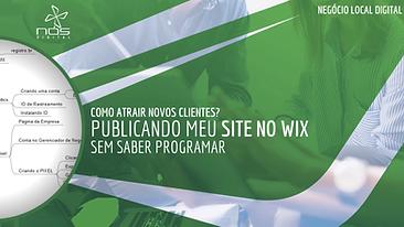Como publicar um site na internet usando o WIX