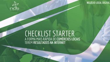 Aula #042 - Checklist Starter - A forma mais rapida de Comércio Local ter resultado na Internet