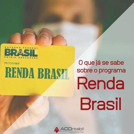 O que é o programa Renda Brasil?
