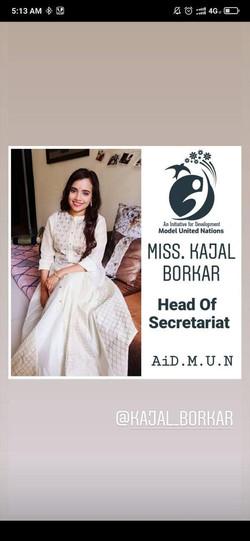 Miss. Kajal Borkar