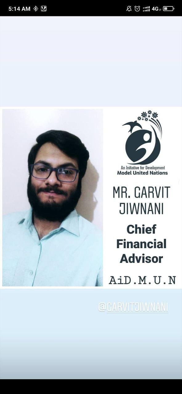 Mr. Garvit Jiwnani