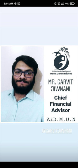 Mr. Garvit Jiwnani