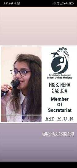 Miss. Neha Jasuja