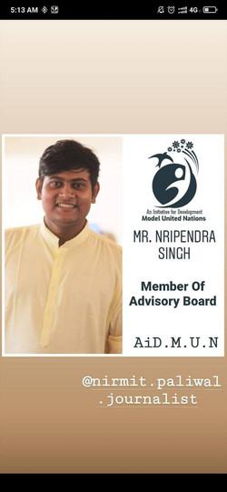 Mr. Nripendra Singh
